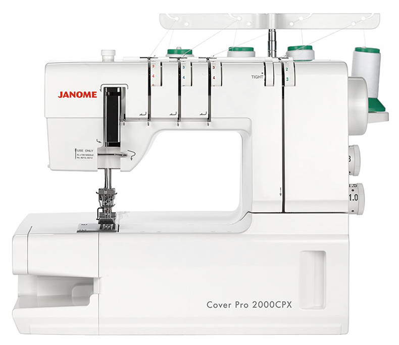 janome coverstitch machine