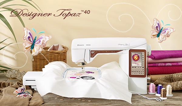 Husqvarna Designer Topaz 40 Eu Moonee Ponds Sewing