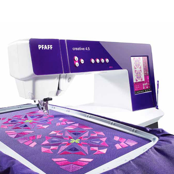 Pfaff Creative 4.5 + Embroidery Unit