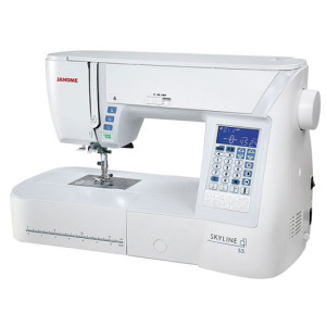 quilting-sewing-machine-janome-skyline-S3-closeup