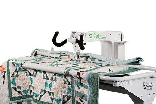 Handi Quilter Simply 16 With Little Foot Frame Moonee